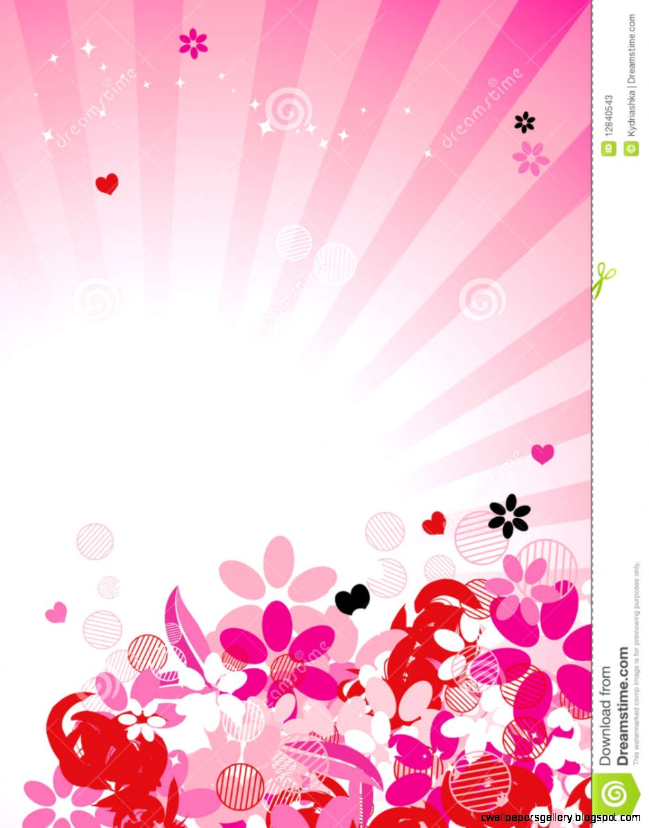 Pink Fl Background For Your Design Stock Photos   Image 12840543