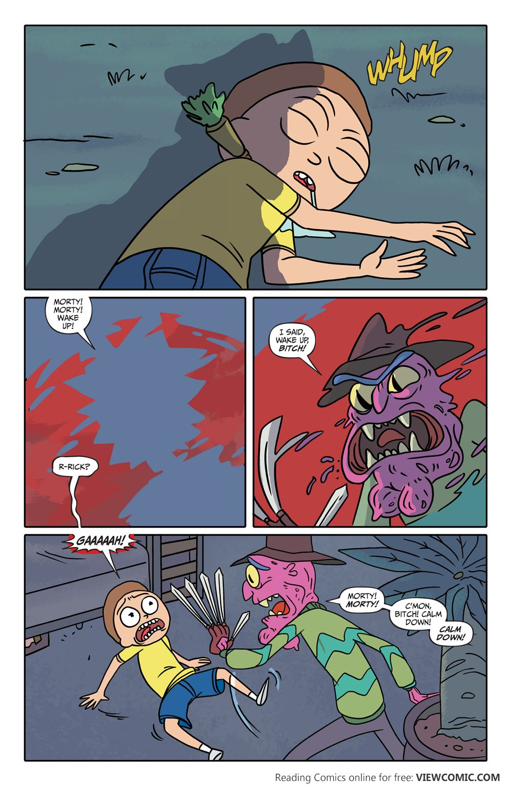 Rick and Morty 005 (2015) | Vietcomic.net reading comics online for free
