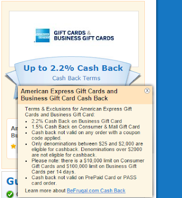 Oren s Money Saver American Express Business Gift Cards
