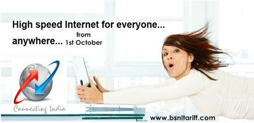 tech news bsnl offers times faster broadband users articleshow