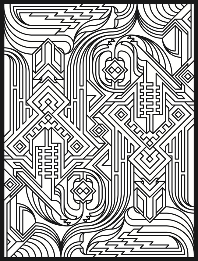 50 trippy coloring pages advanced coloring sheets