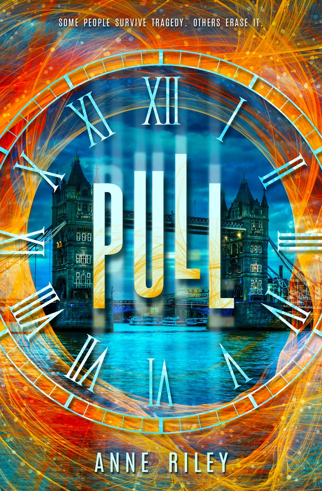 Cover Reveal: Pull by Anne Riley