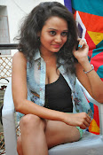 New Actress Jhansi Hot Stills in Shorts-thumbnail-4