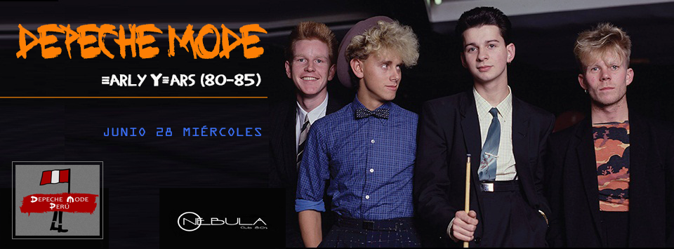 DEPECHE MODE: EARLY YEARS (80-85)