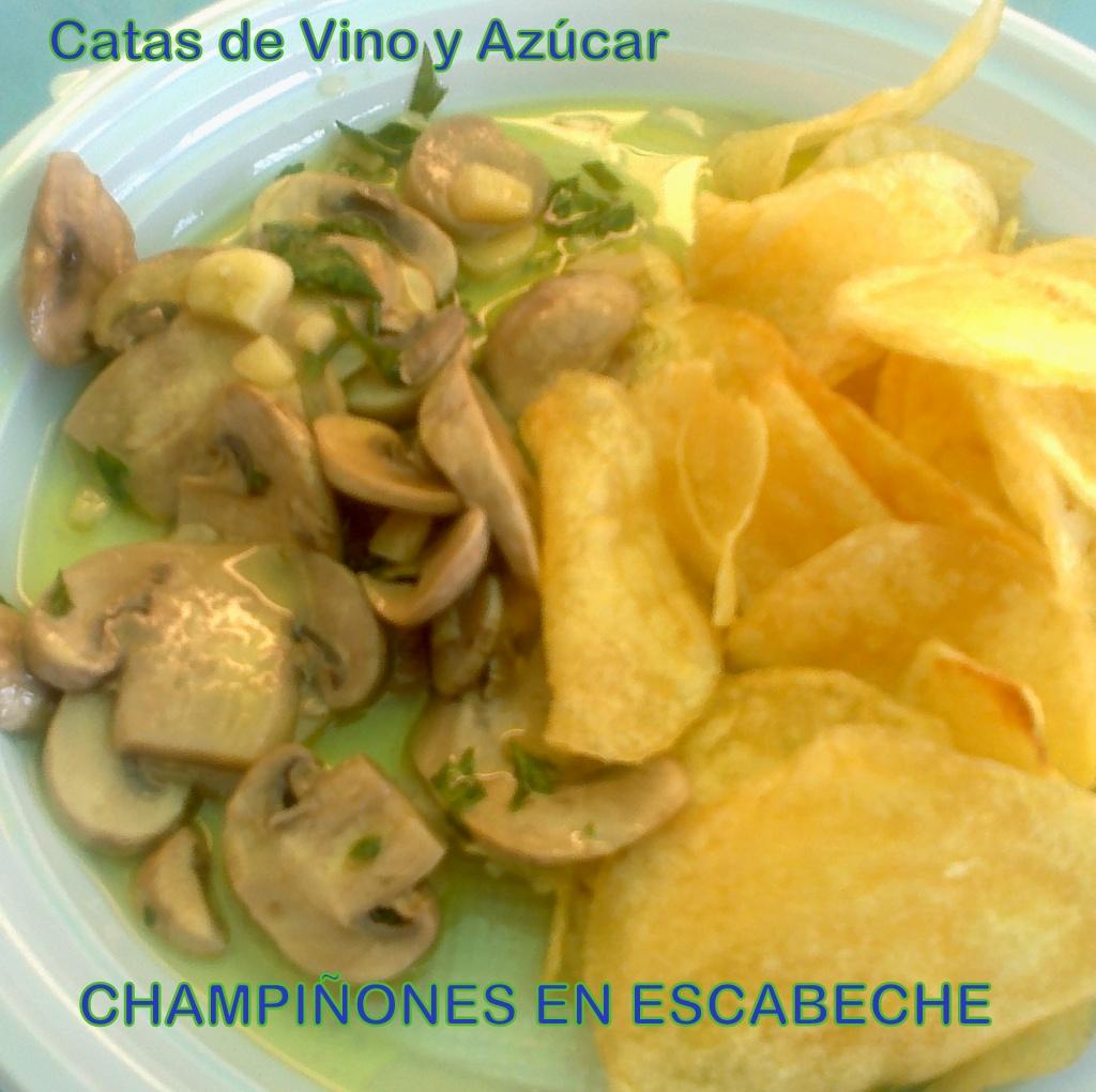 Catas de vino y az car champi ones en escabeche - Calorias boquerones en vinagre ...