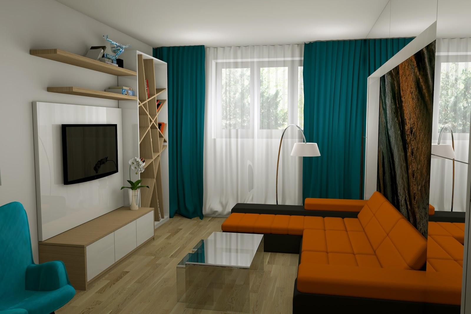 Design interior living apartament dorobanti bucuresti for Decorator interior