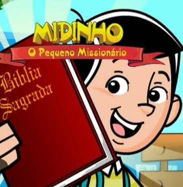 DESENHO MIDINHO O PEQUENO MISSIONÁRIO