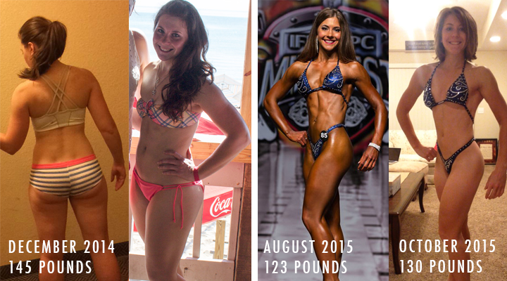 Caroline Body Change