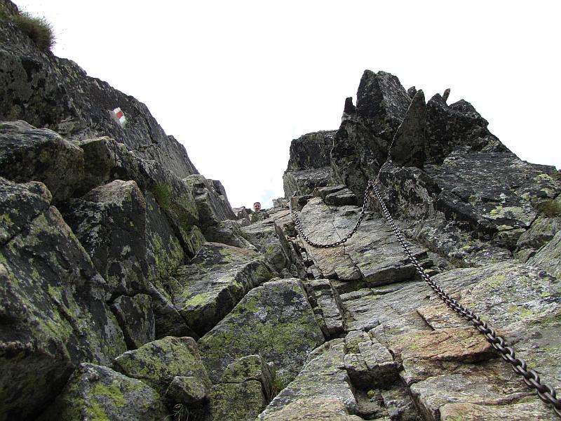 Zejście z Kozich Czub.