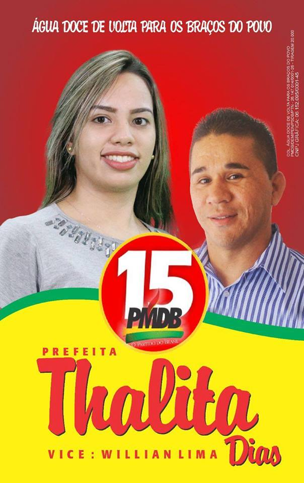 ÁGUA DOCE DO MARANHÃO - THALITA DIAS