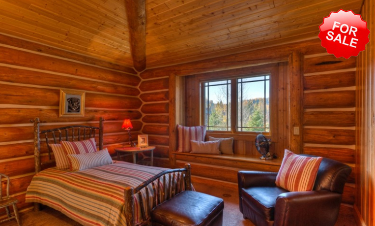 Luxury log homes and luxurious living a luxury log home for 5 bedroom log homes