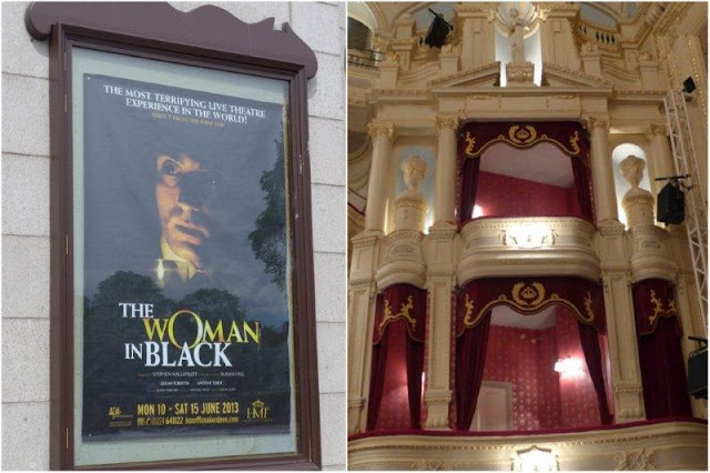 Cartel de  la obraLa mujer de negro - The Woman in Black, Teatro His Majesty's Theatre en Aberdeen