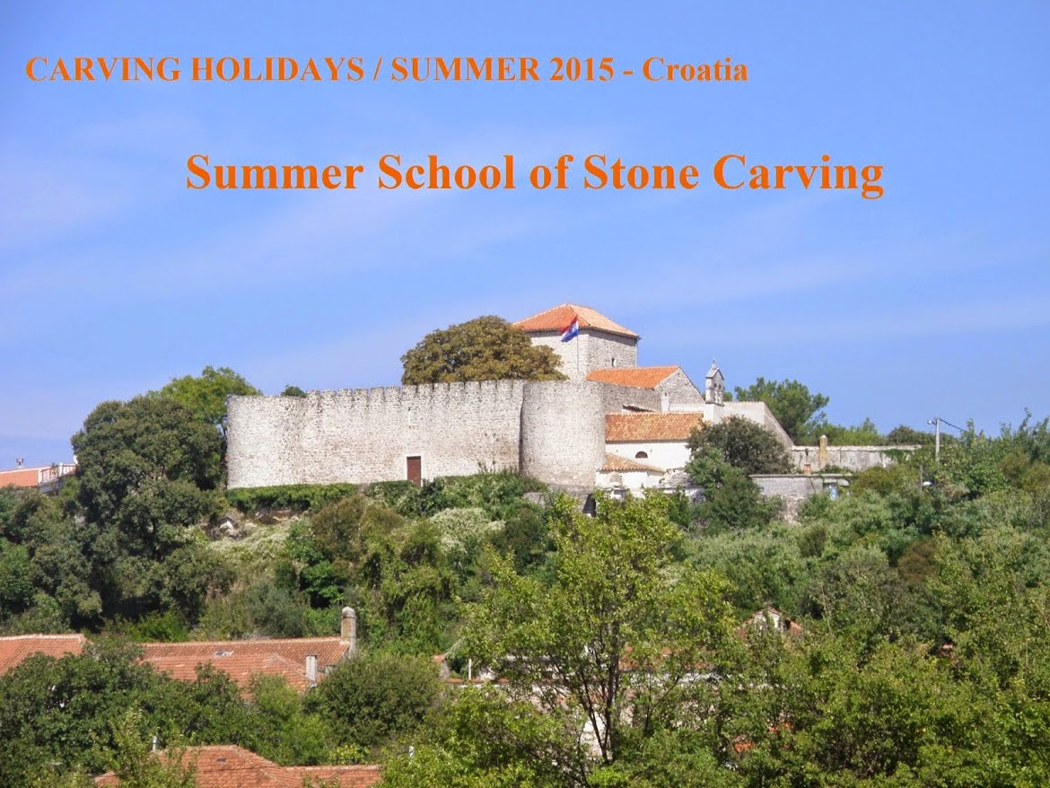 CREATIVE TOURISM / Summer School of Stone Carving - Croatia