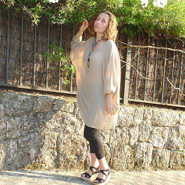 Túnica oversize-Oversized tunic. Visit www.forarealwoman.com  #moda #fashion #blogger