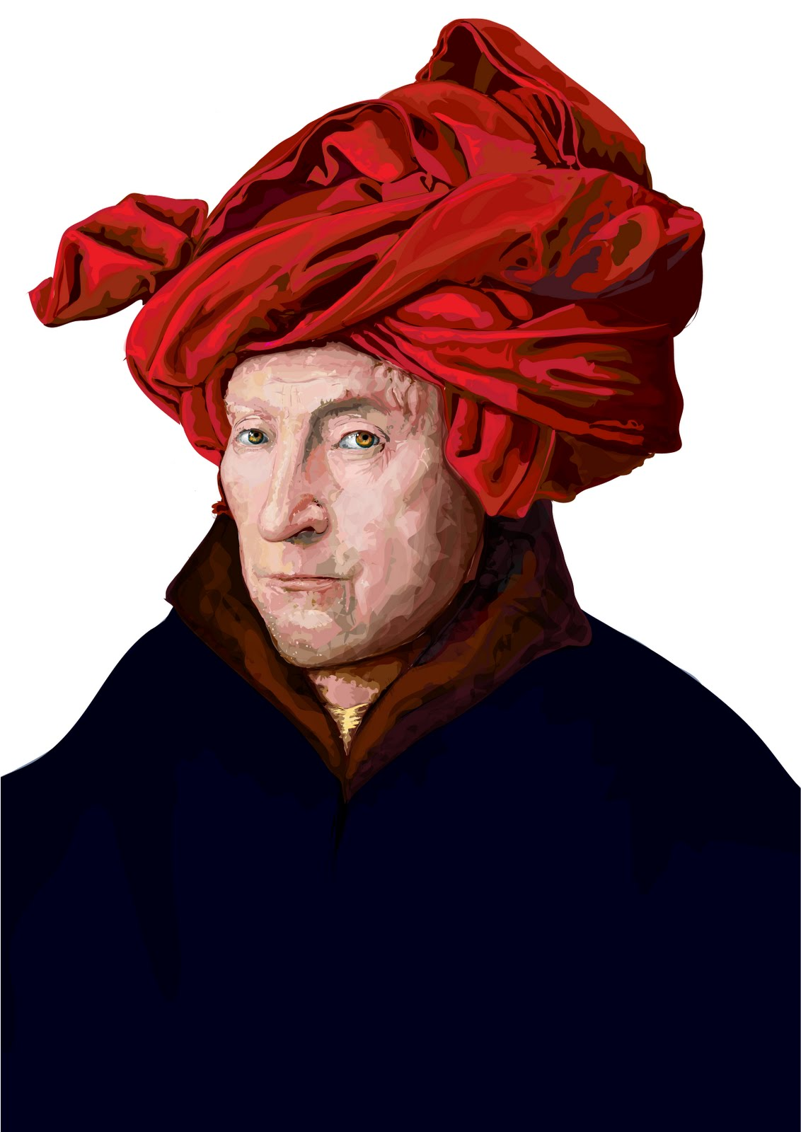 an analysis of jan van eycks man in a red turban essay Largest educational library crowd sourced by students, teachers and educationalists across the country to provide free education to students of india and the world.