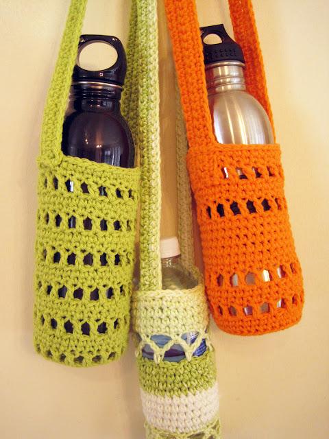 Little House In Colorado: Pattern For Crochet Water Bottle ...
