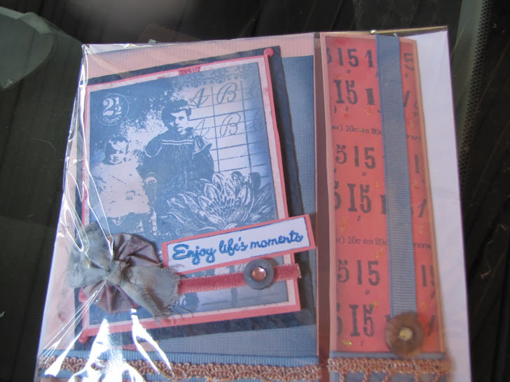 baby card-vintage