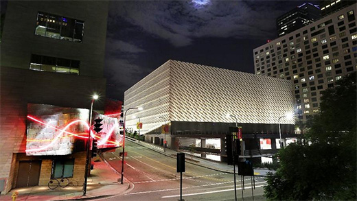Michael Ovitz - The Broad Art Museum opens in Downtown L.A.
