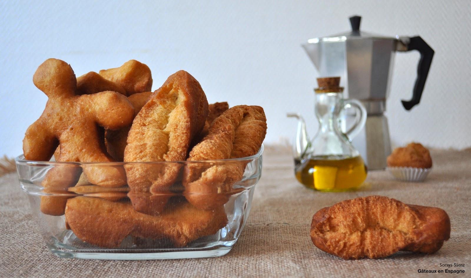 recette beignets espagnols huile olive citron anis