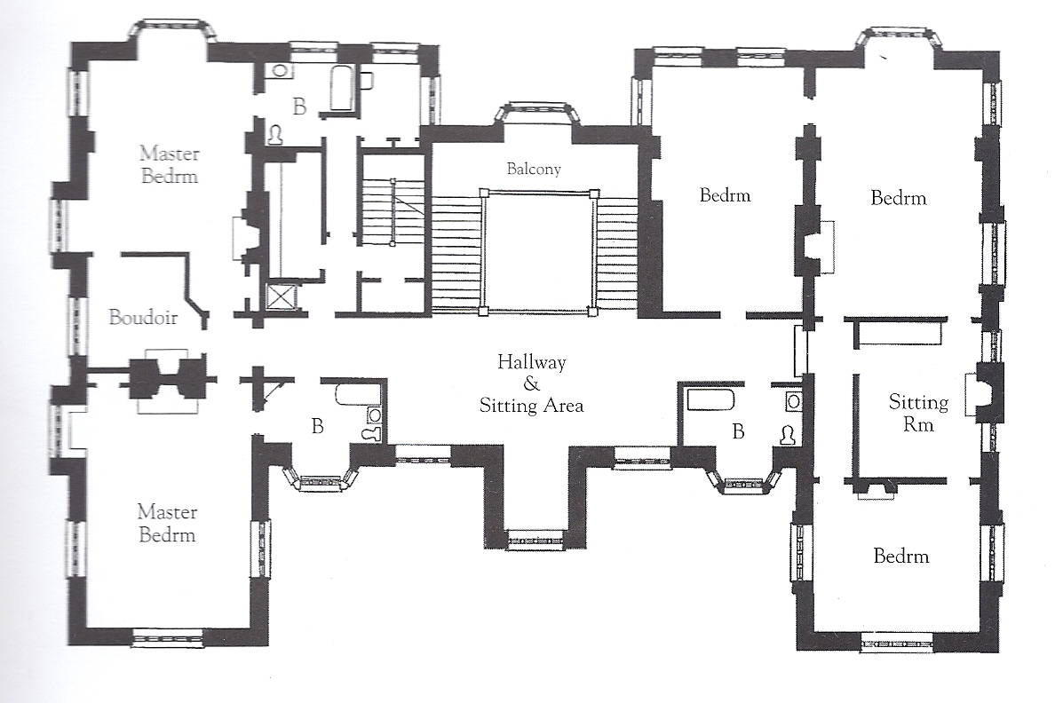 The gilded age era wakehurst the van alen estate newport Mansion floor plans