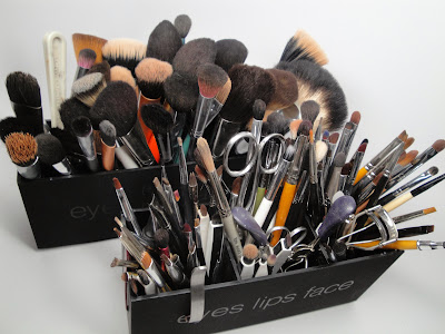makeup storage solutions new spinning makeup brush holder