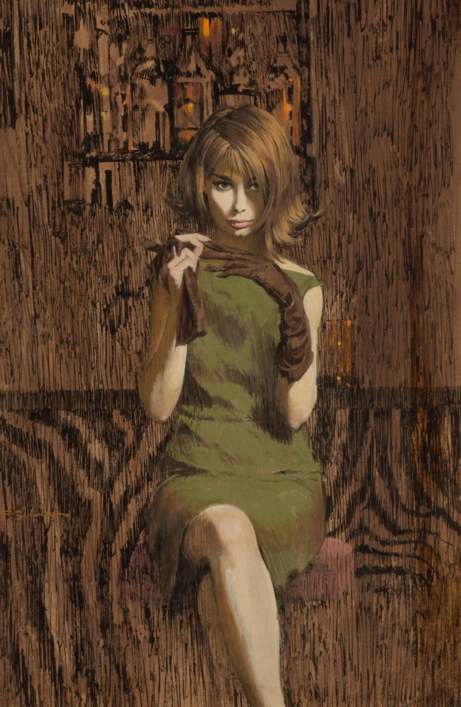 Robert McGinnis. Pin-Up Girls & Pulp Covers. Doctor Ojiplático.