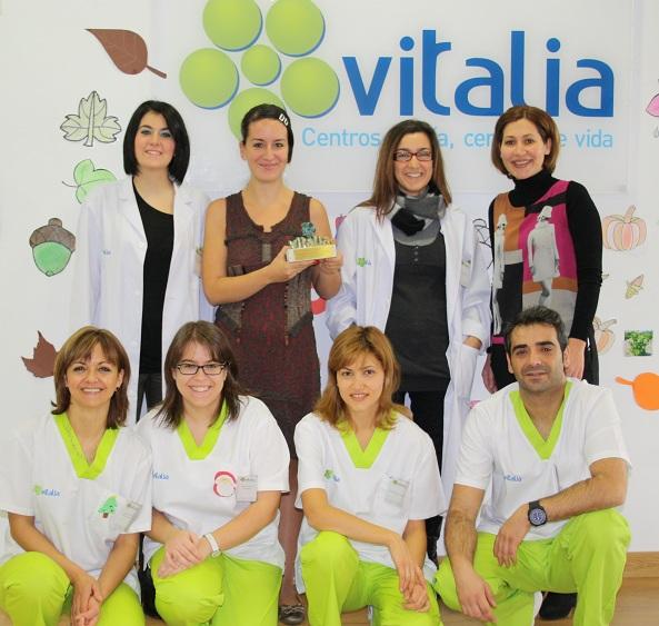 Vitalia Alcalá de Henares, Premio Vitalia a la Excelencia en el Servicio 2012