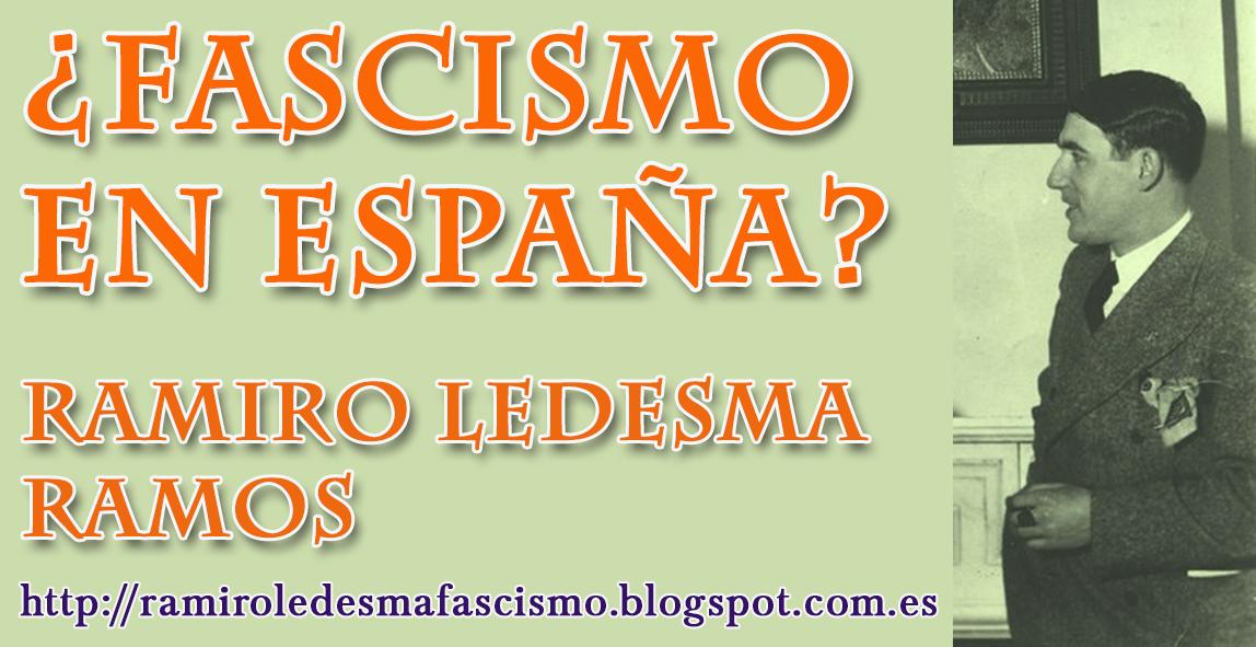 LIBRO EN LÍNEA / ¿FASCISMO EN ESPAÑA?