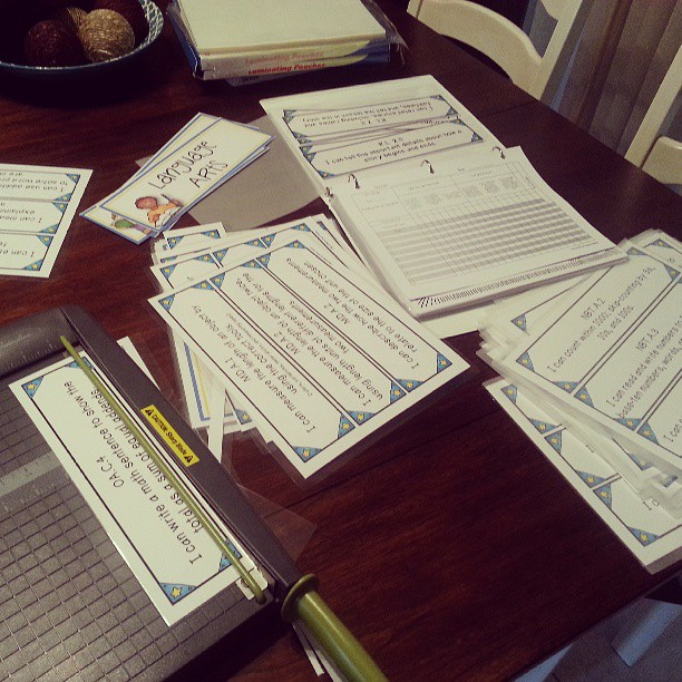 Organize Your Common Core Standards Teacher By The Beach