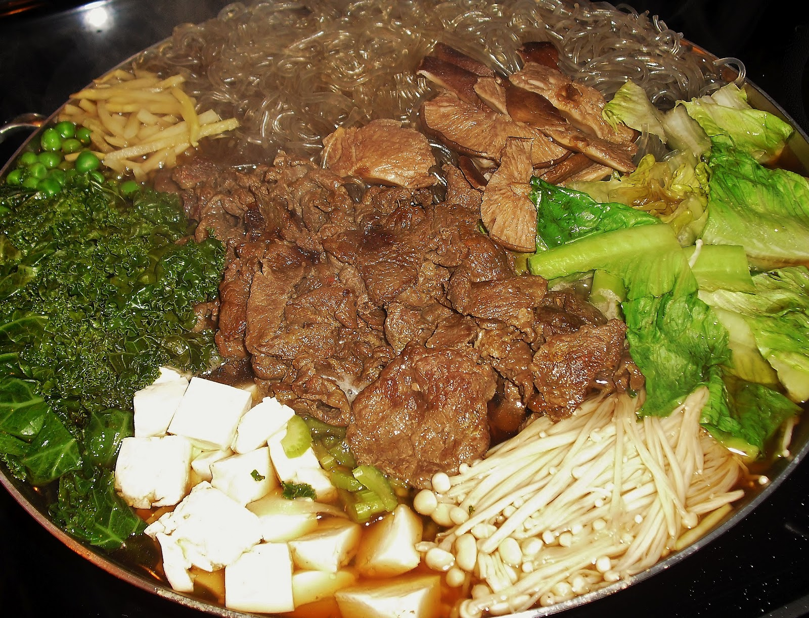 "The literalmeaning of sukiyaki is ""grilling ( 焼 , yaki) on a ..."