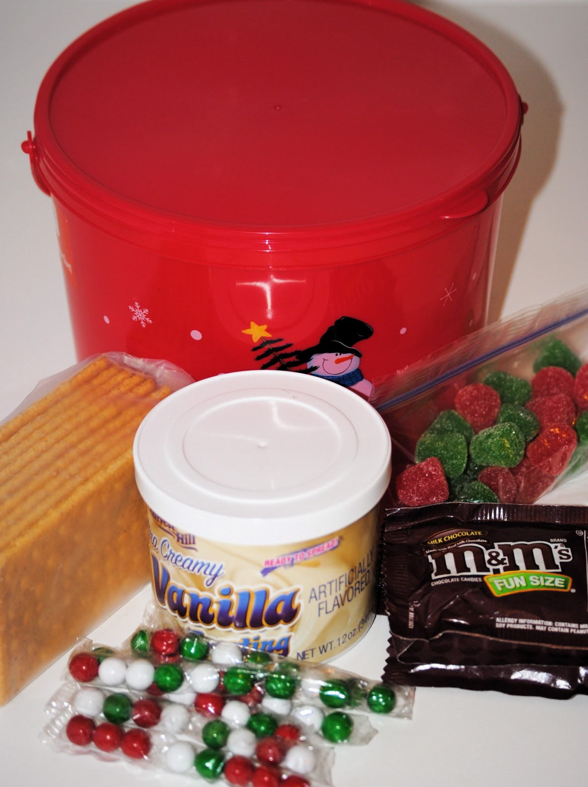 Make Your Own Gingerbread House Kit Happy Go Lucky