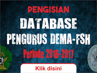 Database Pengurus DEMA-FSH