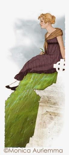 """Illustrazione. A Silvia. Monica Auriemma.""""Leggo perchè..."""" Mondadori Education"""