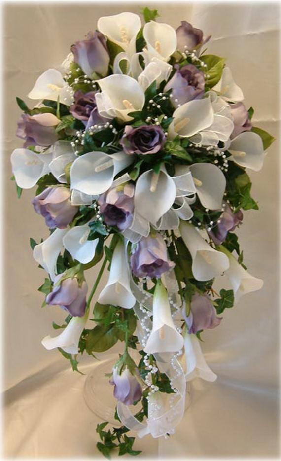 silk wedding flowers bridal bouquets