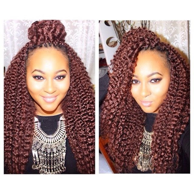 Natural Hair Crochet Braid Styles : Hair Summer Styles: Crochet Braids Seriously Natural Natural Hair ...