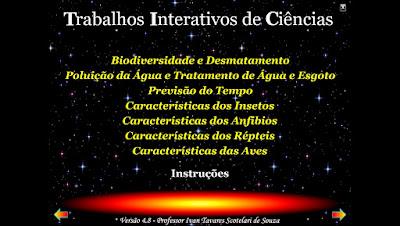 TRABALHOS INTERATIVOS DE CIÊNCIAS