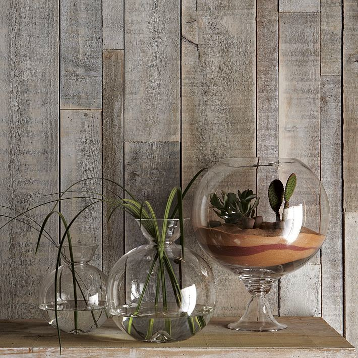 Como Hacer un Terrario con Copas de Vidrio