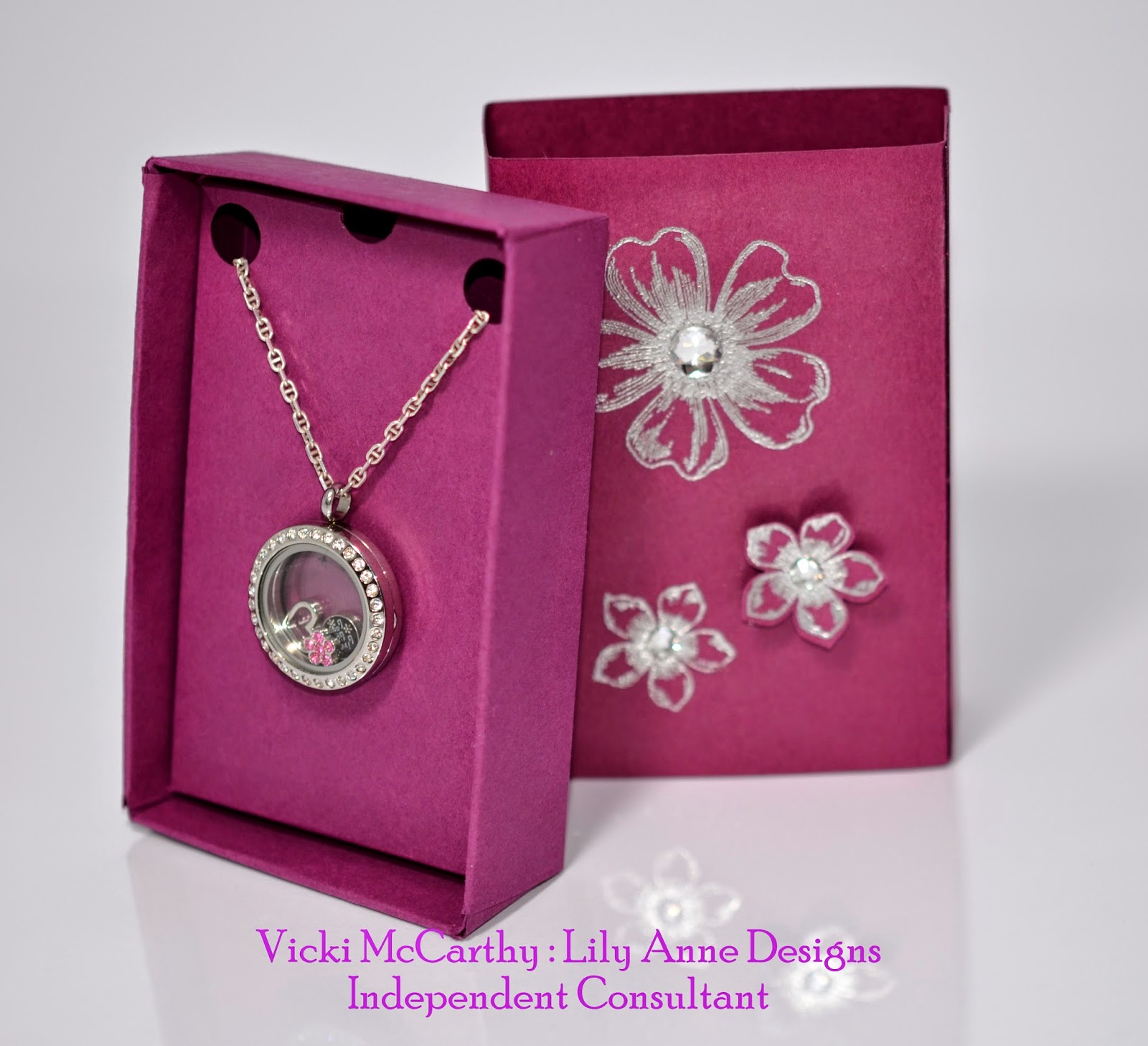 Aussie Stampers Floating Locket Gift Box Australia And New Zealand