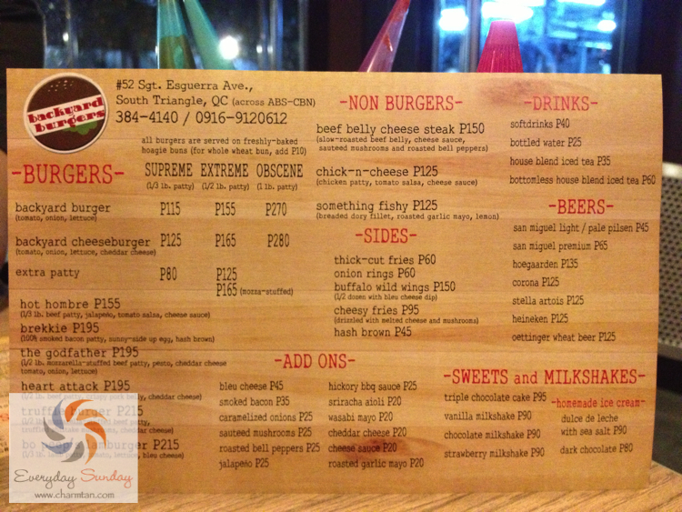 backyard burgers at sgt esguerra quezon city specs price release