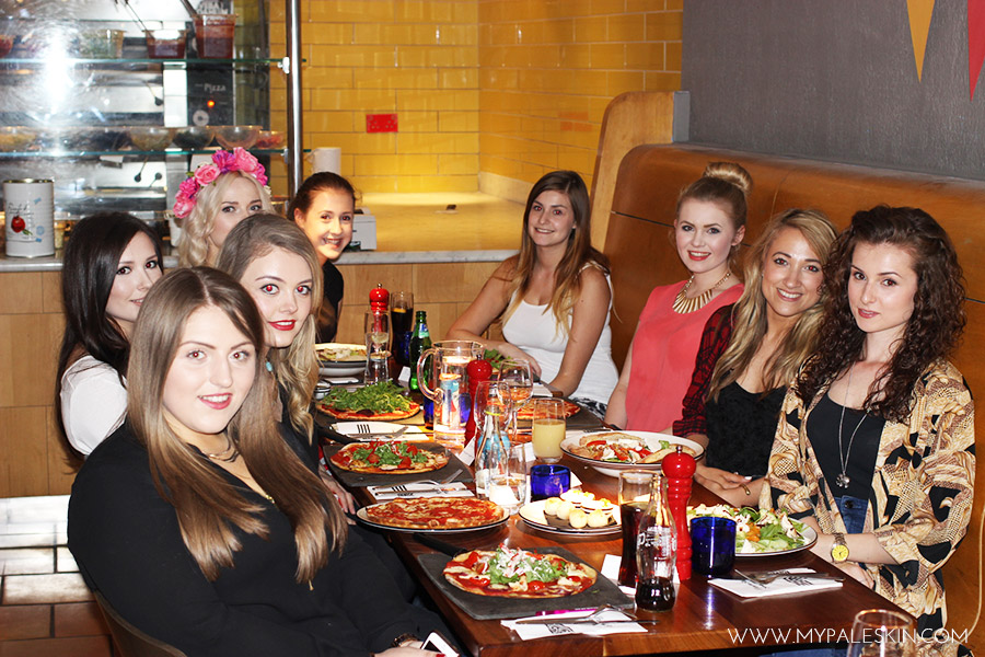 #LDNbloggerDinner London Blogger Dinner My Pale Skin