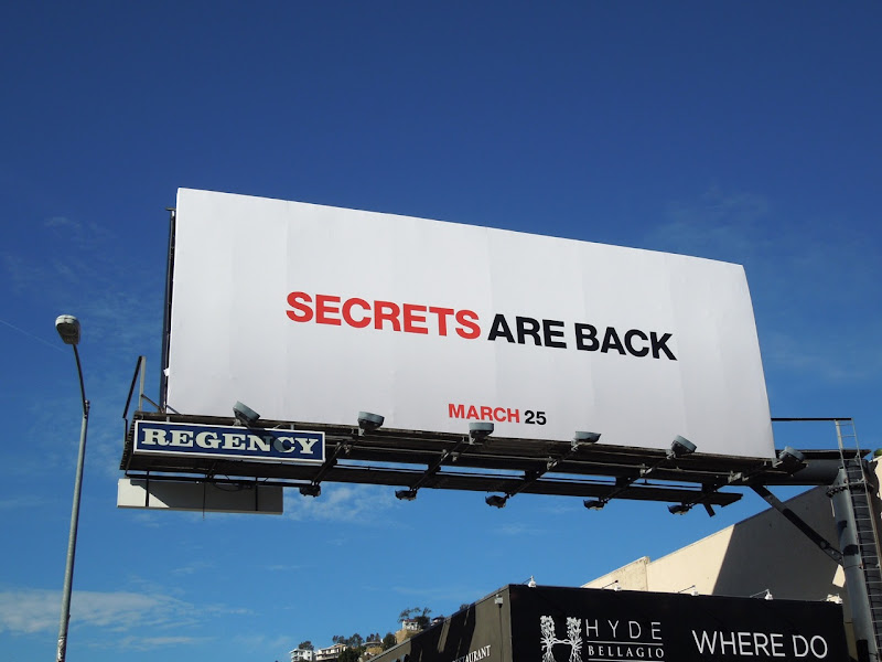 Secrets are back Mad Men 5 billboard