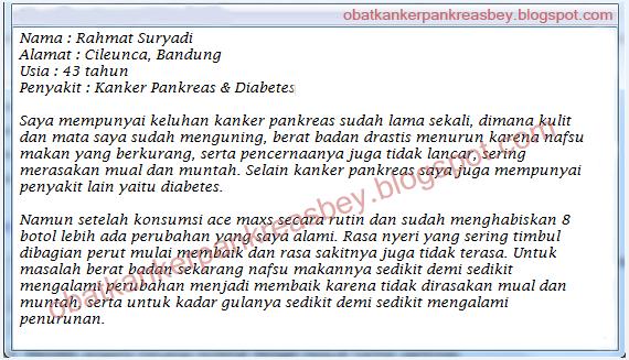 Obat Kanker Pankreas