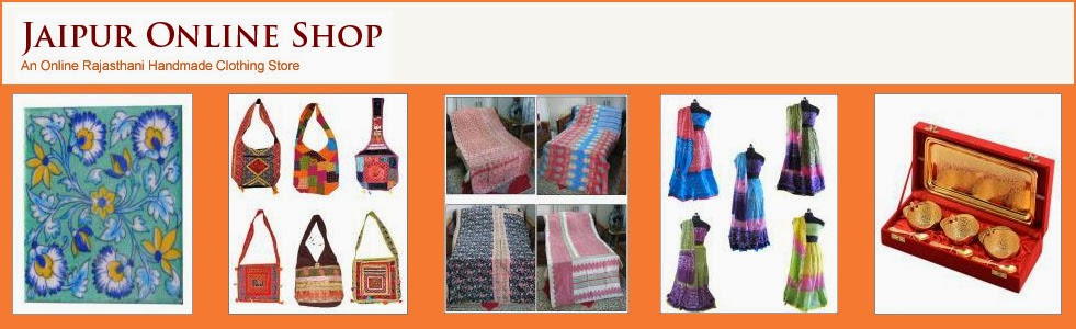 Rajasthani Handmade Clothing , Home Furnishing , Rajasthani Handicraft Items, Indian Home Furnishin
