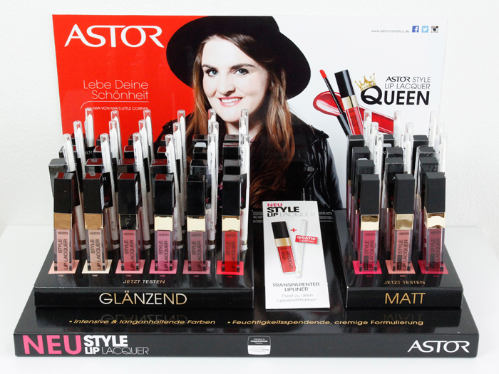 XL Astor Style Lip Lacquer Giveaway