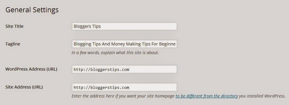 Change / Add www to WordPress Blog URL