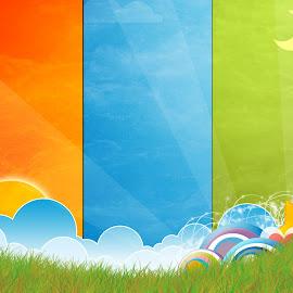 kumpulan gambar warna-warni indah
