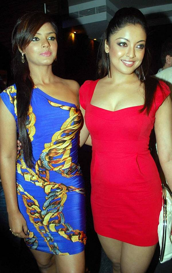 Tanushree Dutta In Hot Red gallery pictures