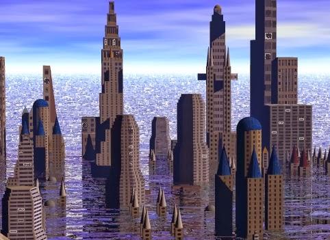 city submerged