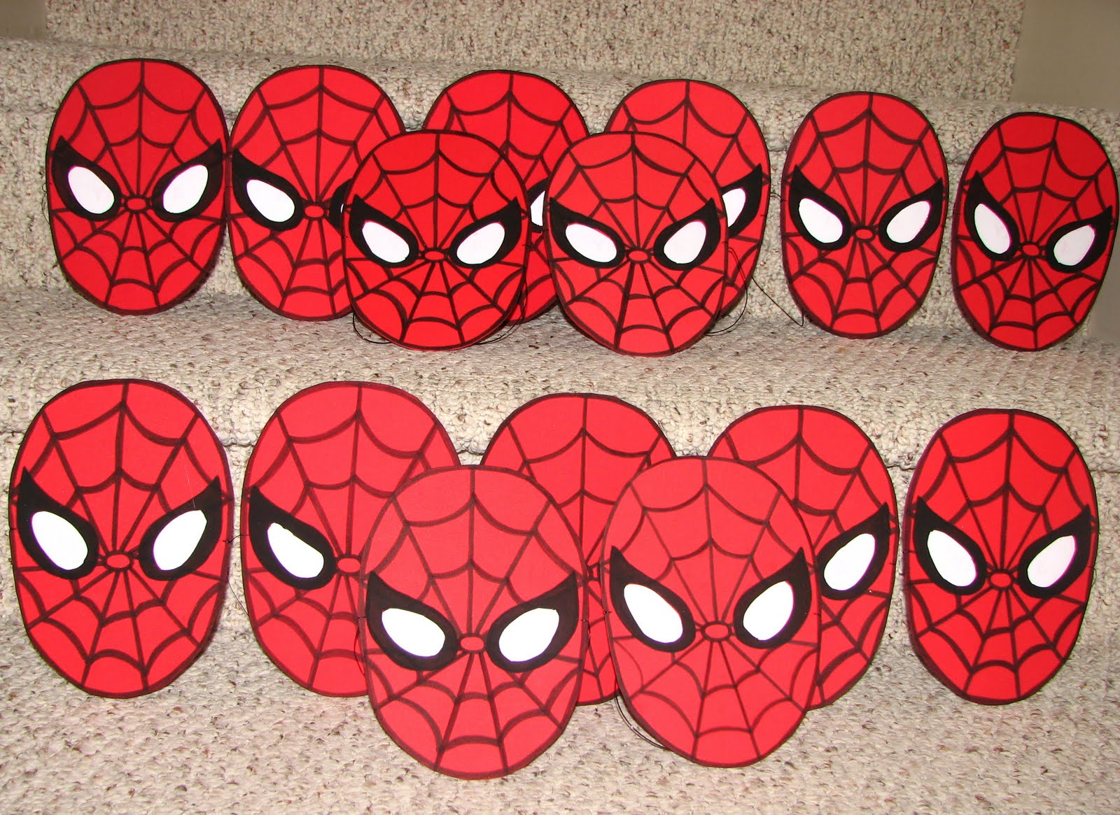 Utopia party decor cards and invitations spiderman mask invitation solutioingenieria Gallery