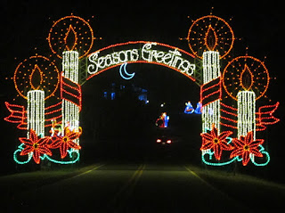 Tanglewood Park Christmas Lights
